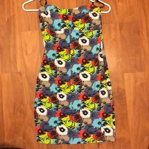 Volcom strapless dress